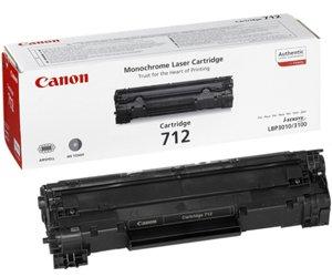 Заправка картриджа CANON 712 для принтера i-SENSYS LBP-3010 / LBP-3100