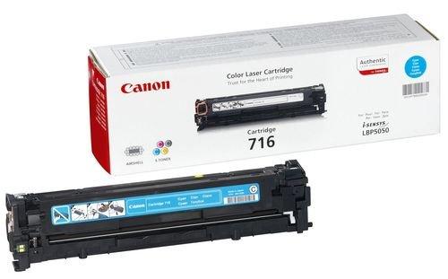 Заправка картриджа CANON 716 (cyan) для принтера LBР 5050 / LBР 5970 / LBР 5975 / LBР 8030 / LBР 8050 / LBР 8330 / LBР 8350