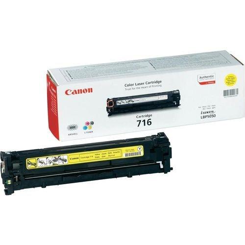 Заправка картриджа CANON 716 (yellow) для принтера LBР 5050 / LBР 5970 / LBР 5975 / LBР 8030 / LBР 8050 / LBР 8330 / LBР 8350