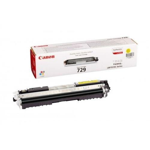 Заправка картриджа CANON 729 (yellow) для принтера LBР 7010 / LBР 7018