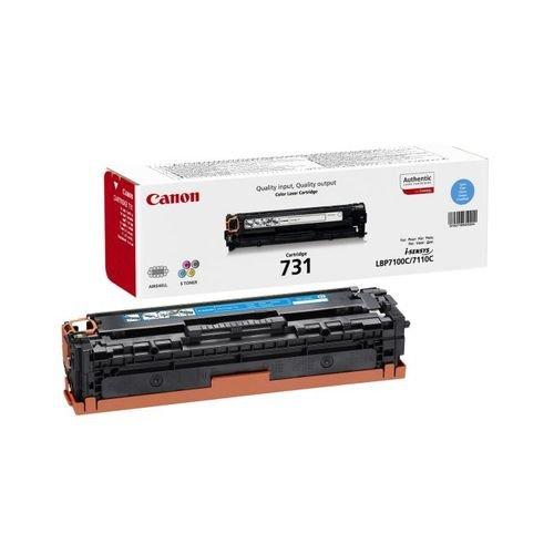 Заправка картриджа CANON 731 (cyan) для принтера LBР 7100 / LBР 7110 / LBР 8230 / LBР 8280