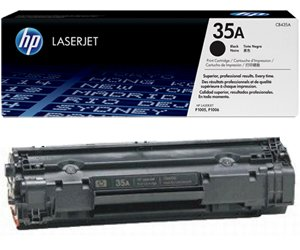 Заправка картриджа CB435A (35A) для принтера HP LJ P1005/ P1006