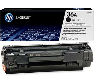 Заправка картриджа CB436A (36A) для принтера HP LJ P1505/ M1120/ 1522