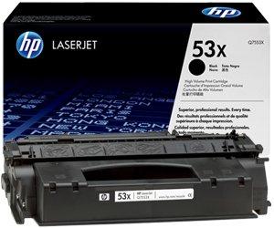 Заправка картриджа Q7553X (53X) для принтера HP LJ P2014/ P2015/ M2727NF