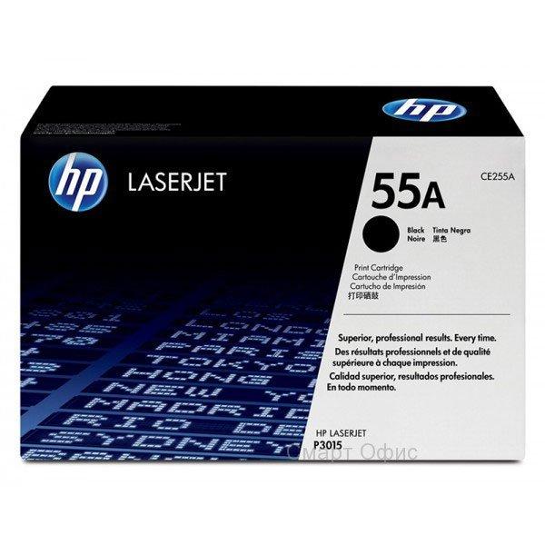 Заправка картриджа CE255A (55A) для принтера HP LJ P3015