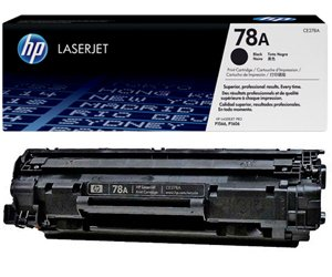 Заправка картриджа CE278A (78A) для принтера HP LJ P1566/ 1606/ M1536
