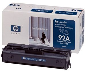 Заправка картриджа C4092A (92A) для принтера HP LJ 1100/ 3200