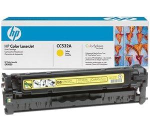 Заправка картриджа CC532A (304A) для принтера yellow НР CLJ CM2320NF/ 2320FXI/ CP2025DN/ CP2025N