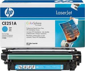 Картридж HP CE251A (504A)