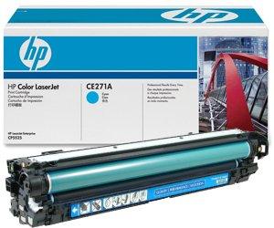 Картридж HP CE271A (650A)