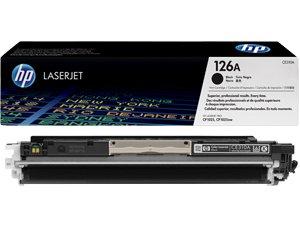 Заправка картриджа CE310A (126A) для принтера BLACK hp cp1025/ cp1025nw/ lj pro 100 color mfp m175a