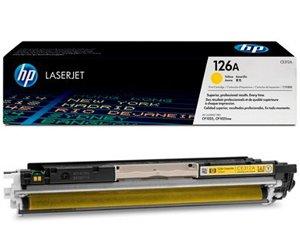 Заправка картриджа CE312A (126A) yellow для принтера HP CP1025/ CP1025NW/ LJ PRO 100 COLOUR MFP M175A