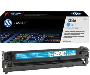 Заправка картриджа CE321A (128A) cyan для принтера HP LJ CP1525N/ 1525NW, CM1415FN/ 1415FNW