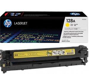 Заправка картриджа CE322A (128A) yellow для принтера HP LJ CP1525N/ 1525NW/ CM1415FN/ 1415FNW