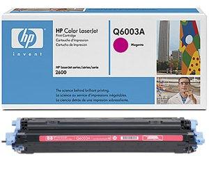 Заправка картриджа Q6003A (124A) magenta для принтера HP COLOR LASERJET 1600/ 2600/ 2605 SERIES, CLJ CM1015/ CM1017