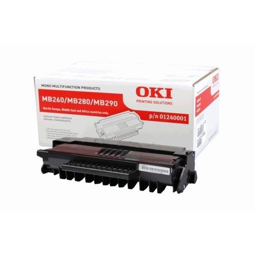 Заправка картриджа OKI 01240001 для принтера MB260 / MB280 / MB290 MFP