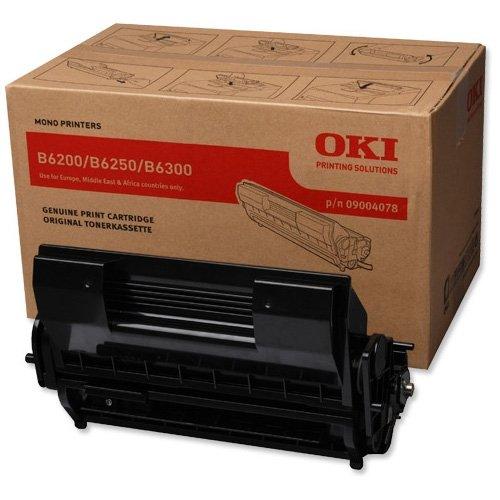 Заправка картриджа OKI 09004078 для принтеров B6200 / B6250 / B6300