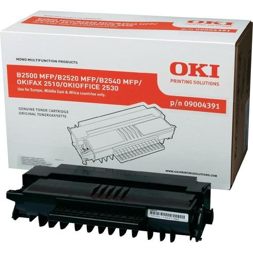 Заправка картриджа OKI 09004391 для принтера B2500 / B2520 / B2540