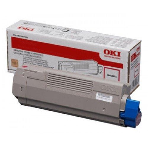 Заправка картриджей OKI для принтера OKI C5900 / C5800 / C5500 / C5550 / C6100 MFP - magenta
