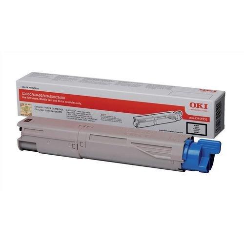 Заправка картриджей OKI для принтера C3300 / C3400 / C3450 / C3500 / C3520 / C3530 / C3600 / C3540 / MC350 / MC360 - black