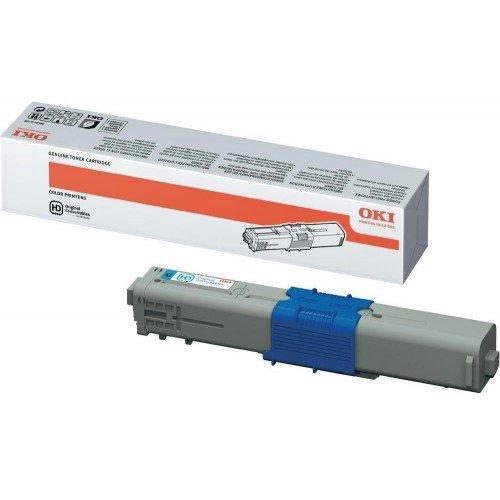 Заправка картриджей OKI для принтера c510 / c530 / c531 / mc560 - cyan