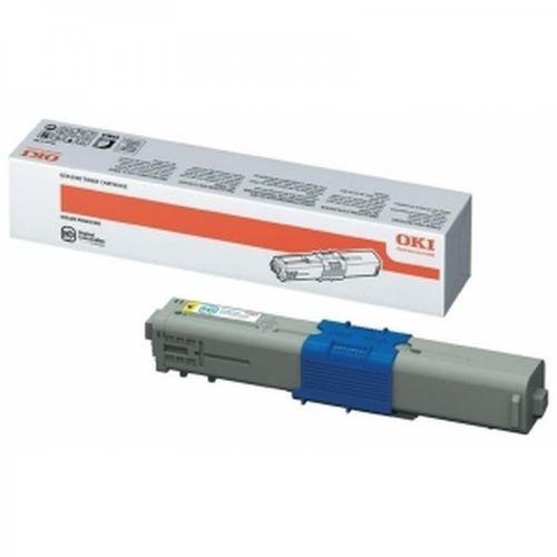 Заправка картриджей OKI для принтера c510 / c530 / c531 / mc560 - yellow