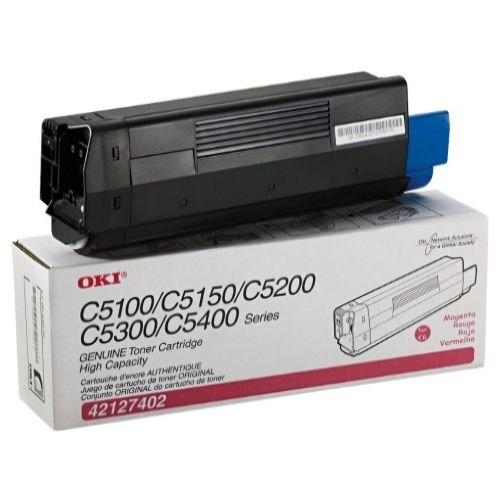 Заправка картриджей OKI для принтера OKI C5100 / C5200 / C5300 / C5400 - magenta