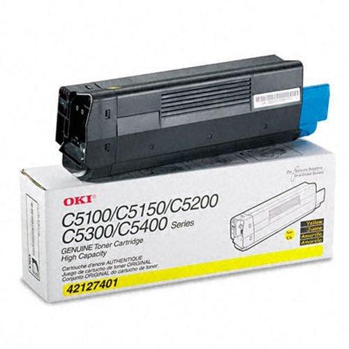 Заправка картриджей OKI для принтера OKI C5100 / C5200 / C5300 / C5400 - yellow