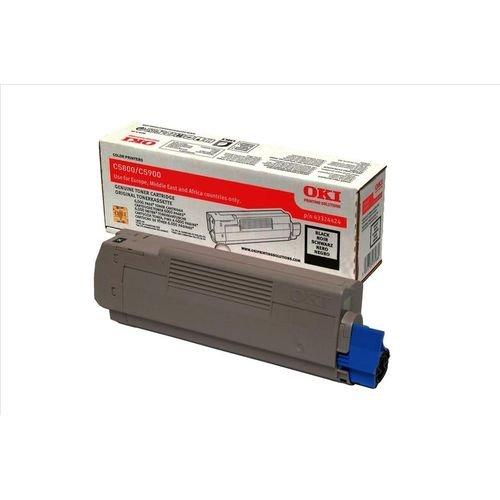 Заправка картриджей OKI для принтера OKI C5900 / C5800 / C5500 / C5550 / C6100 MFP - black
