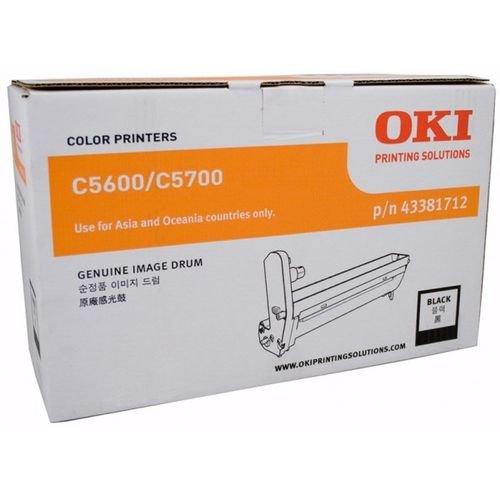 Заправка картриджей OKI для принтера OKI C5600 / C5700 - black