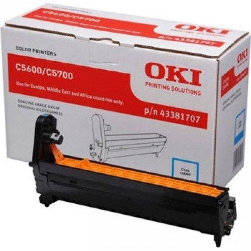Заправка картриджей OKI для принтера OKI C5600 / C5700 - cyan