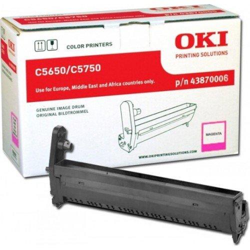 Заправка картриджей OKI для принтера OKI C5650 / C5750 - magenta