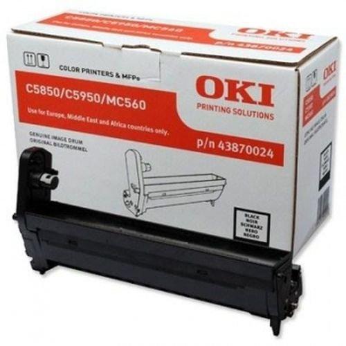 Заправка картриджей OKI для принтера OKI C5850 / C5950 - black