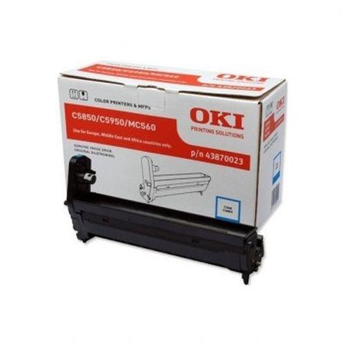 Заправка картриджей OKI для принтера OKI C5850 / C5950 - cyan