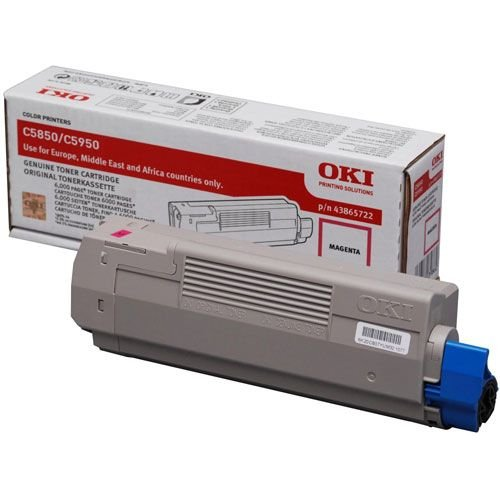 Заправка картриджей OKI для принтера OKI C5850 / C5950 - magenta