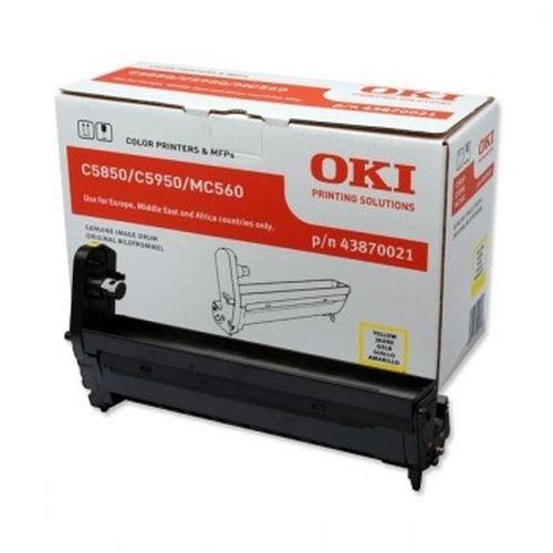 Заправка картриджей OKI для принтера OKI C5850 / C5950 - yellow