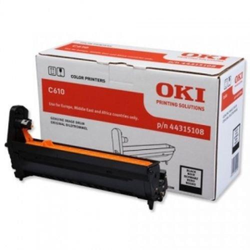 Заправка картриджей OKI для принтера OKI C610 - black