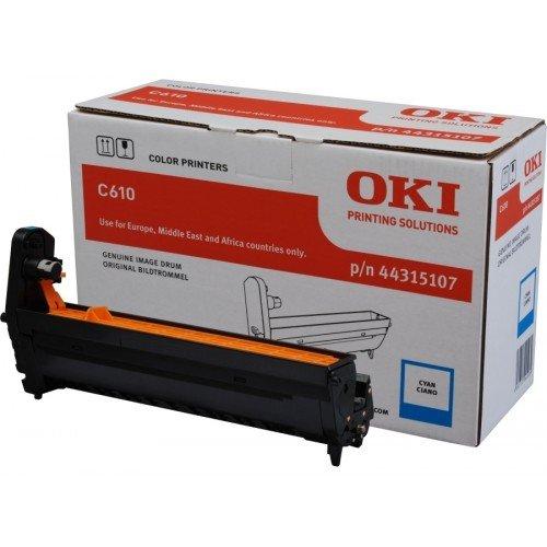 Заправка картриджей OKI для принтера OKI C610 - cyan