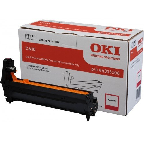 Заправка картриджей OKI для принтера OKI C610 - magenta