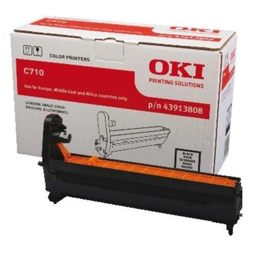Заправка картриджей OKI для принтера OKI C710 / C711 - black