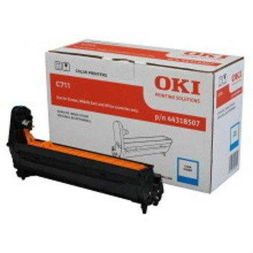 Заправка картриджей OKI для принтера OKI C710 / C711 - cyan