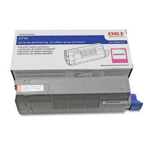 Заправка картриджей OKI для принтера OKI C710 / C711 - magenta