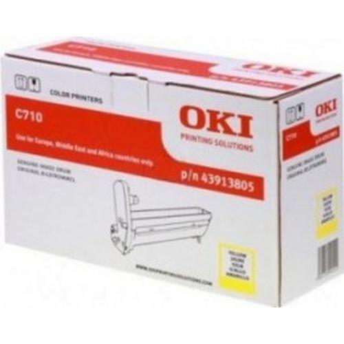 Заправка картриджей OKI для принтера OKI C710 / C711 - yellow