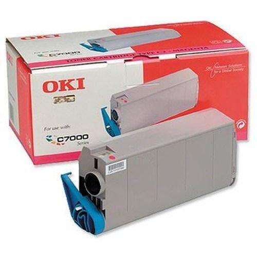 Заправка картриджей OKI для принтера OKI C7100 / C7200 / C7300 / C7350 / C7400 / C7500 - magenta