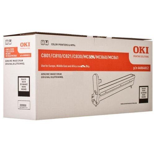 Заправка картриджей OKI для принтера OKI C801 / C821n - black