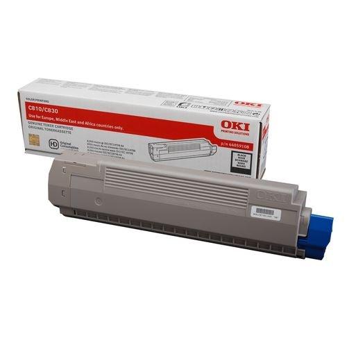 Заправка картриджей OKI для принтера OKI C810 / C830 - black