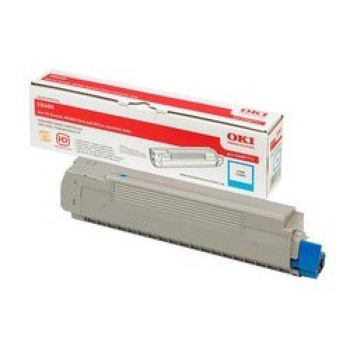 Заправка картриджей OKI для принтера OKI C8600 / C8800 - cyan