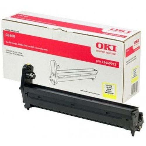 Заправка картриджей OKI для принтера OKI C8600 / C8800 - yellow