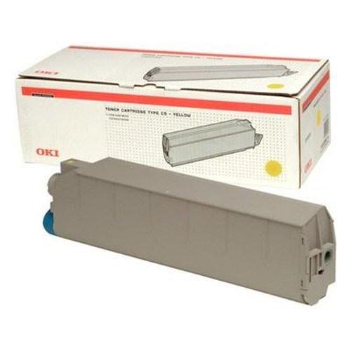 Заправка картриджей OKI для принтера OKI C9200 / C9400 / C9300 / C9500 - yellow