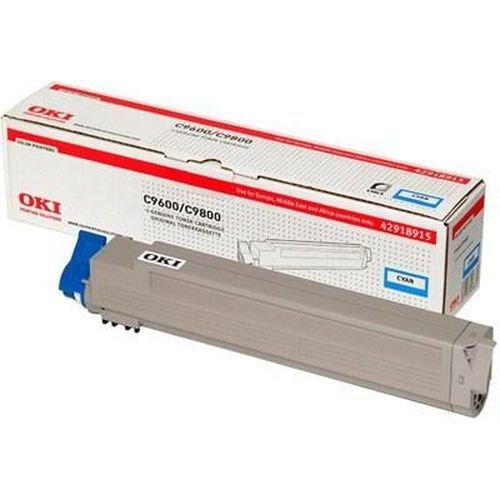 Заправка картриджей OKI для принтера OKI C9600 / C9800 - cyan